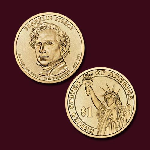 Franklin-Pierce-Commemorative-Coin