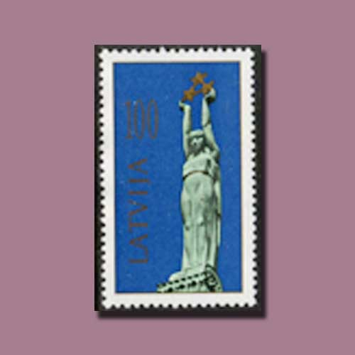 Freedom-Monument-Stamps-of-Latvia