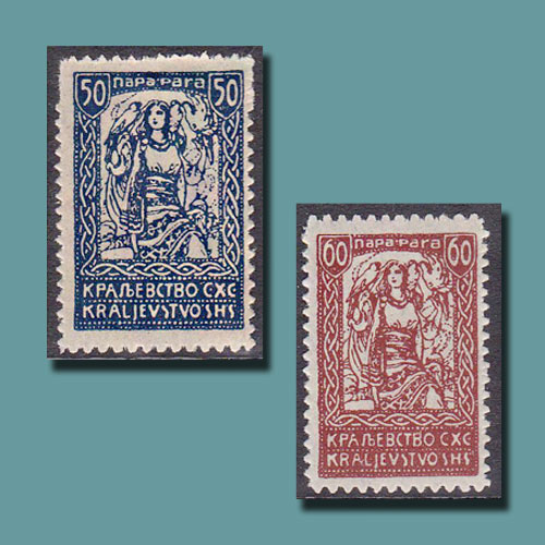 Freedom-on-the-Provisional-Stamps-of-Former-Yugoslavia