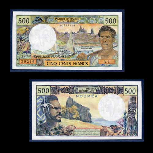 French-Pacific-Territories-Banknotes