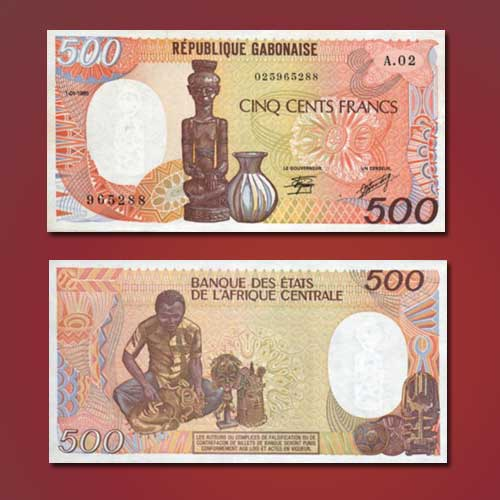 Gabon-500-Francs-banknote-of-1985