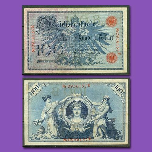 German-Imperial-Banknotes