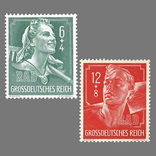 Germany's-10th-Anniversary-of-RAD-Stamps