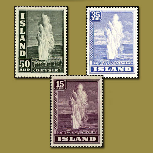 Geysir-Stamps-of-Iceland