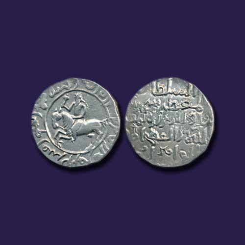Ghiyas-al-din-Iwaz-Shah-Silver-Tanka-listed-For-INR-45,000