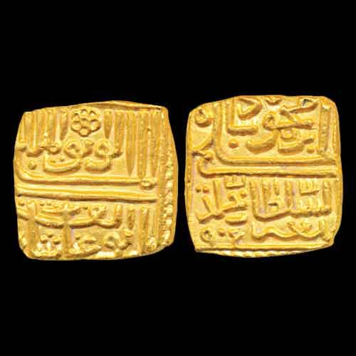 Malwa-Sultan-Ghiyath-Shah's-Gold-Tanka-Listed-for-INR-50,000