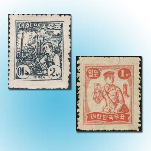 Glimpse-in-South-Korean-Society-through-Stamps