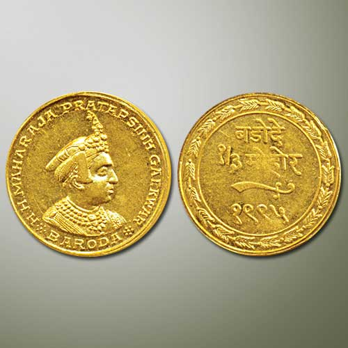 Gold-1/3-Mohur-estimated-to-fetch-INR-3,-00,000
