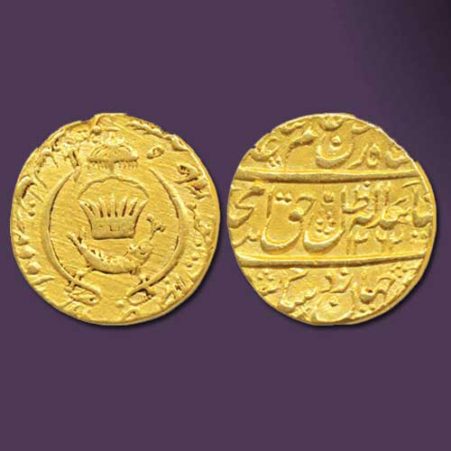 Gold-Ashrafi-of-Amjad-Ali-Shah-Sold-For-INR-1,00,000