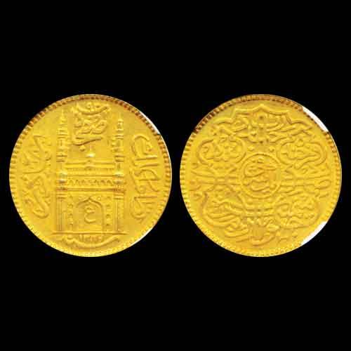 Gold-Ashrafi-of-Hyderabad-estimated-for-INR-1,20,000-1,40,000