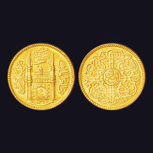 Gold-Ashrafi-of-Hyderabad-Listed-For-INR-1,00,000