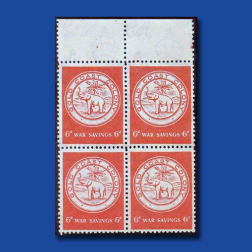 Gold-Coast's-War-Savings-Stamps