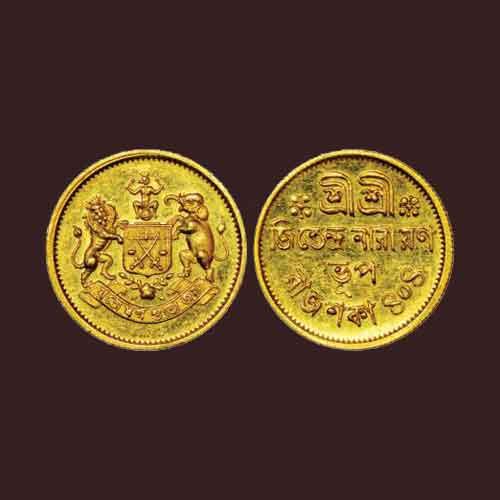 Gold-Coin-of-Cooch-Bihar