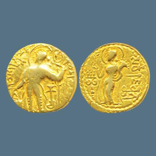 Gold-coin-of-Emperor-Samudragupta