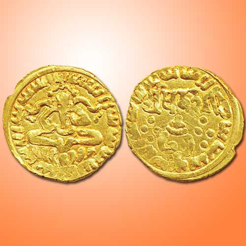 Gold-coin-of-Rashtrakuta-dynasty
