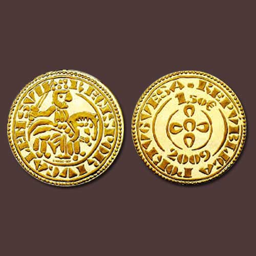 Gold-Coin-of-Sancho-II-of-Portugal