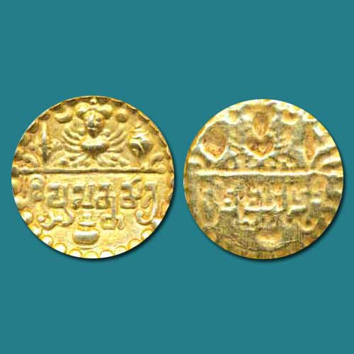 Gold-coin-of-Sharabhapuriya-