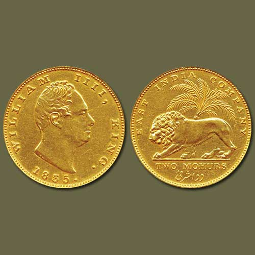 Gold-Coin-of-William-IV-Listed-For-INR-10,00,000