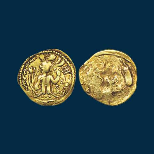 Gold-Dinar-of-Alchon-Huns