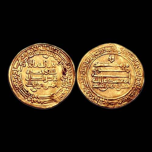 Gold-Dinar-of-Khumarawayh-Ibn-Ahmad