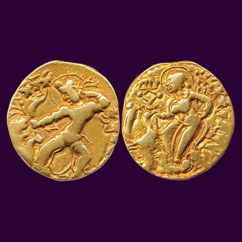 Gold-Dinar-of-Kumargupta-I