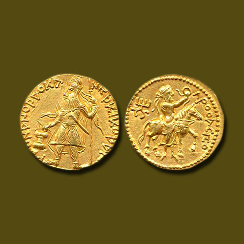 Gold-dinar-of-Kushan-dynasty-fetched-a-fortune