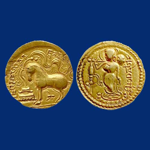 Gold-Dinar-of-Samudragupta-Listed-For-INR-4,50,000