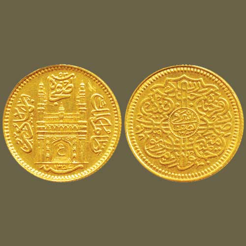 Gold-Half-Ashrafi-of-Hyderabad-Listed-For-INR-70,000