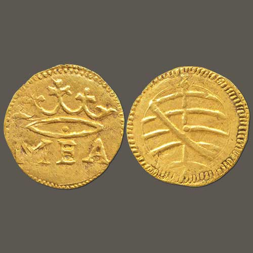 Gold-Half--Manuel-of-Indo-Portuguese-Sold-For-INR-2,85,000
