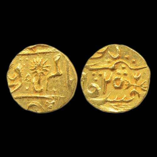 Gold-Half-Mohur-of-Chhatarpur