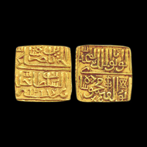 Gold-Half-Tanka-of-Mahmud-Shah-II-of-Malwa-Sultanate