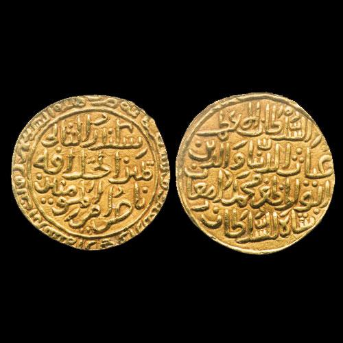 Gold-Heavy-Tanka-of-Ghiyath-Al-Din-Muhammad-Damghan-Shah