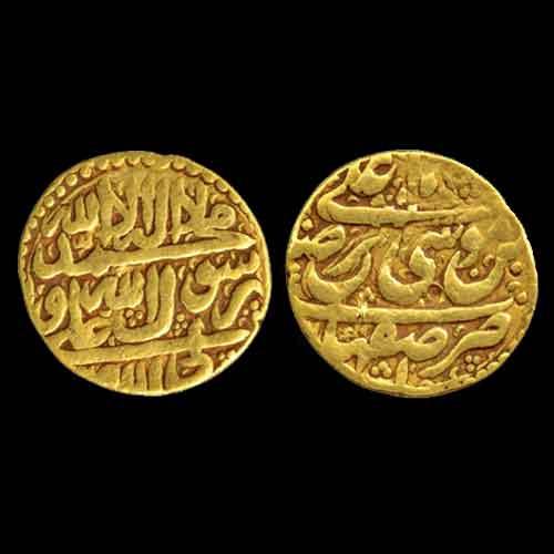 Gold-Mohur-of-Afsharid-Dynasty