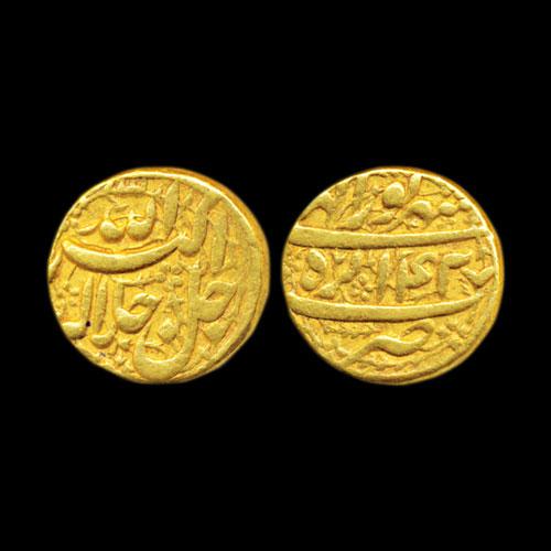 Gold-Mohur-of-Akbar-Listed-for-10,00,000-
