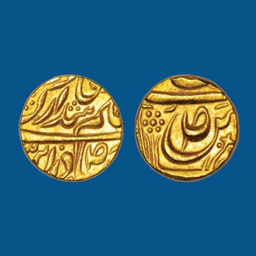 Gold-Mohur-of-Amar-Singh