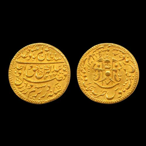 Gold-Mohur-of-Awadh