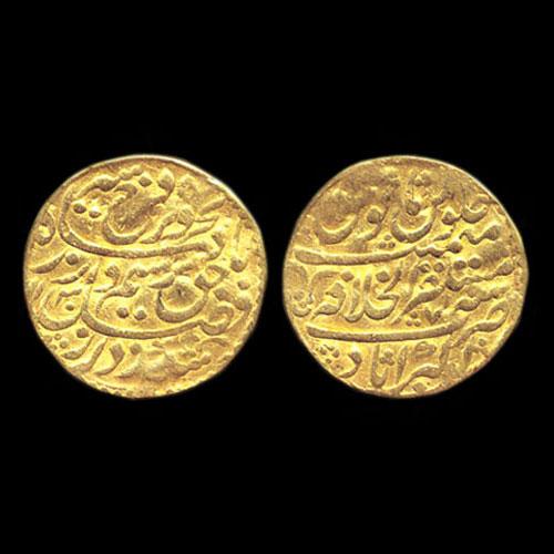 Gold-Mohur-of-Farrukhsiyar