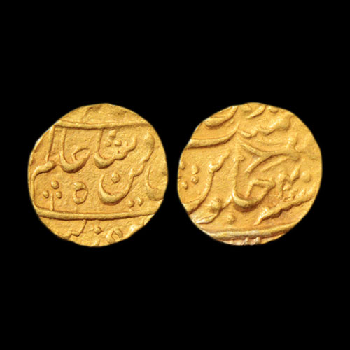 Gold-Mohur-of-Hayat-Muhammad-Khan