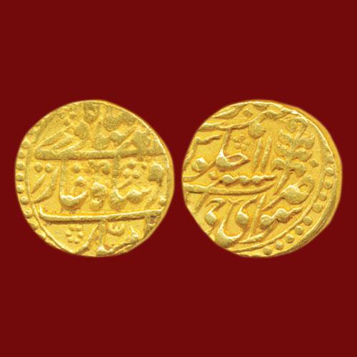 Gold-Mohur-of-Jaipur-