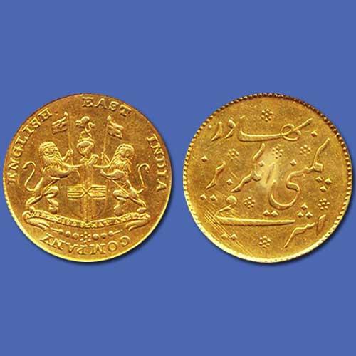 Gold-Mohur-of-Madras-Presidency