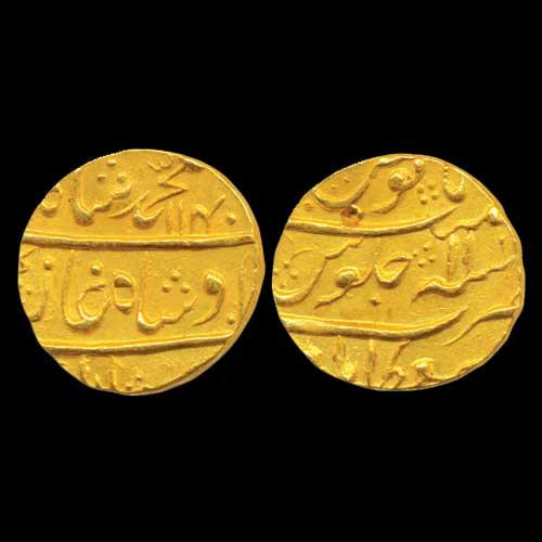Gold-Mohur-of-Muhammad-Shah