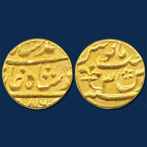 Gold-Mohur-of-Nawab-of-Bengal