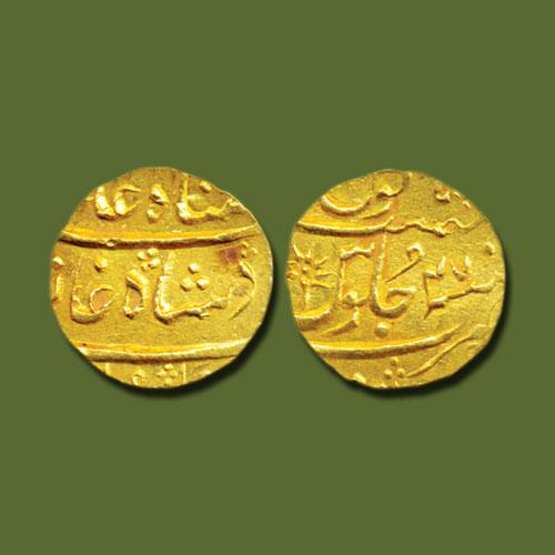 Gold-Mohur-of-Nawab-of-Surat