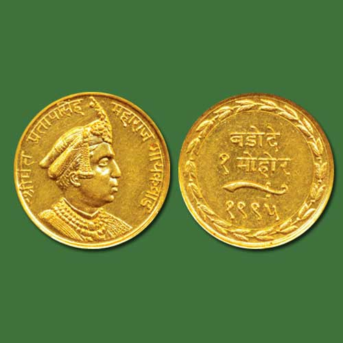 Gold-Mohur-of-Pratap-Singh-Listed-For-INR-3,50,000