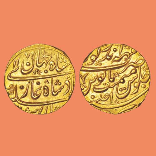 Gold-Mohur-of-Princely-State-Bharatpur
