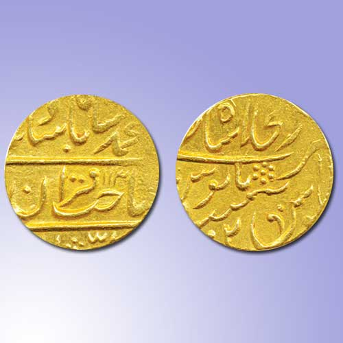 Gold-Mohur-of-Princely-State-Gwalior