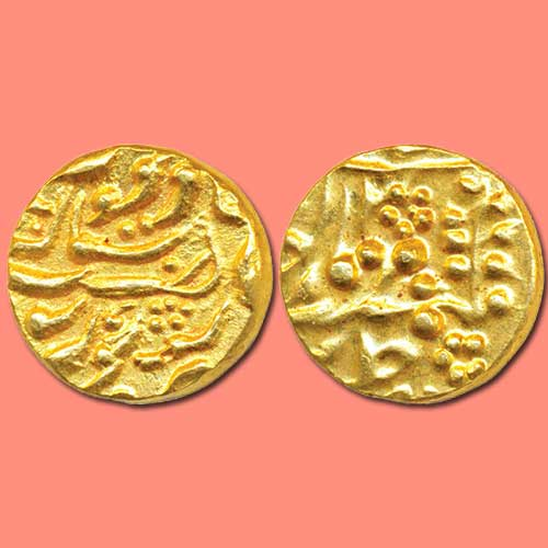 Gold-Mohur-of-Princely-State-Karauli