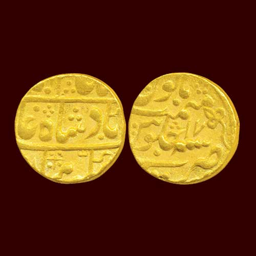 Gold-Mohur-of-Princely-State-Kotah