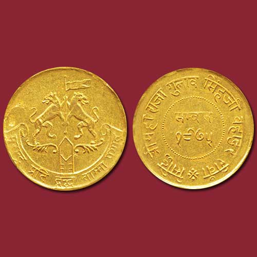 Gold-Mohur-of-Princely-State-Rewa-Sold-For-INR-2,50,000