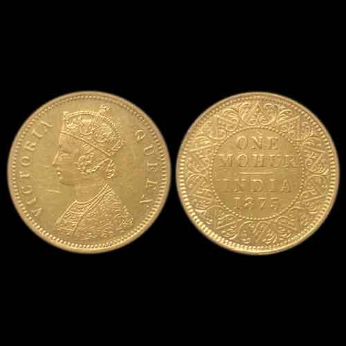 Gold-Mohur-of-Queen-Victoria-is-auctioned-by-Imperial-Auctions